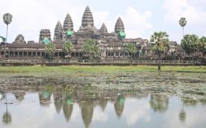 Circuit à Angkor au Cambodge