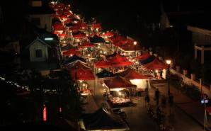 Marché de nuit Laos